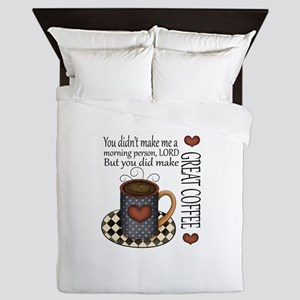 GREAT COFFEE LORD Queen Duvet