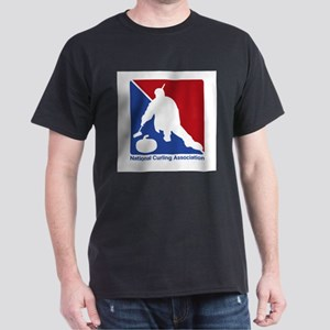 National Curling Association Dark T-Shirt