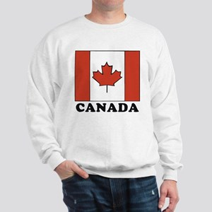 Canadian Flag Sweatshirt