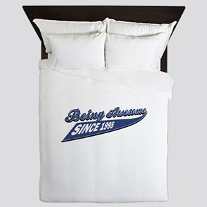 Awesome since 1995 Queen Duvet