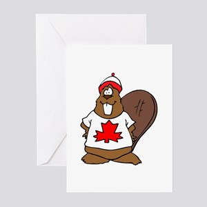 Canadian Beaver Greeting Cards (Pk of 10)