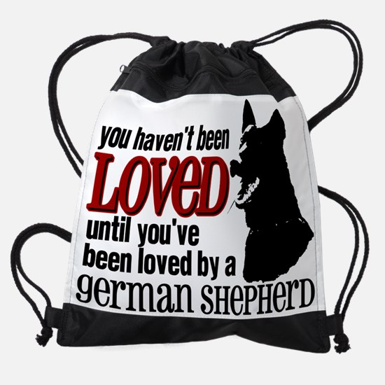 GSD Love Drawstring Bag