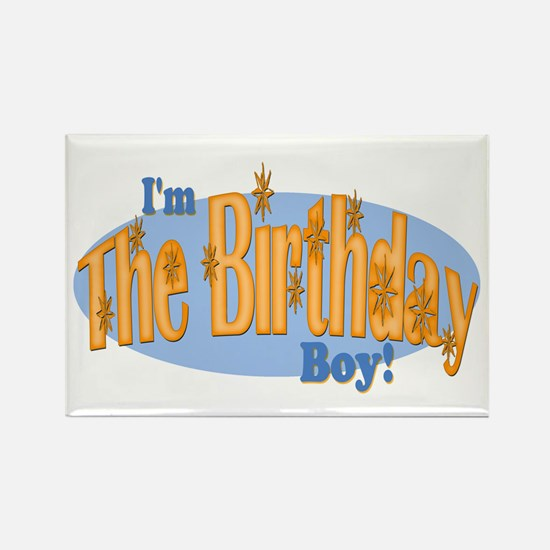 Birthday Boy Rectangle Magnet