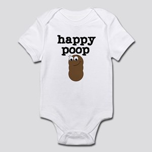 Happy Poop Infant Bodysuit