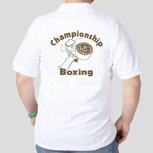 Championship Boxing Golf Shirt