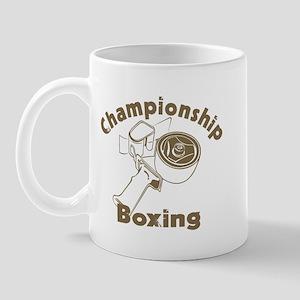 Championship Boxing Mug