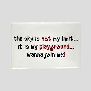 Playground Rectangle Magnet