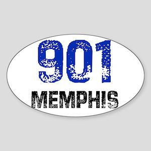 901 Oval Sticker