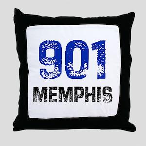 901 Throw Pillow