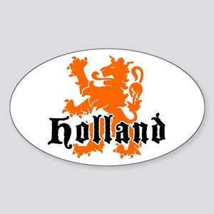 Holland Oval Sticker