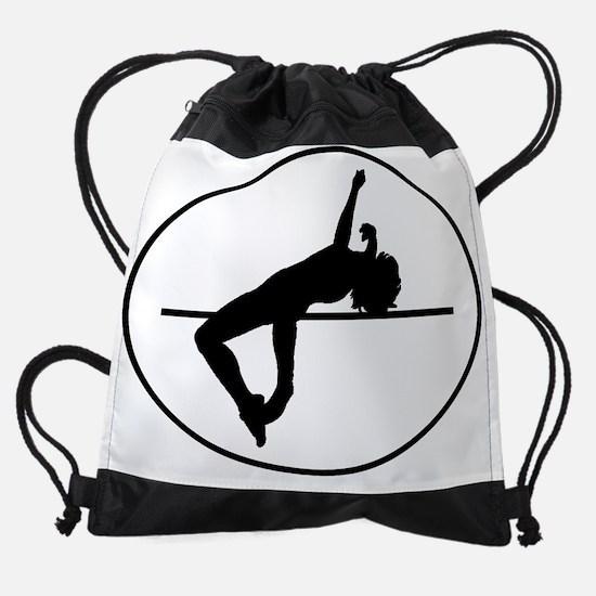 High Jump Silhouette Oval Drawstring Bag