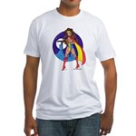 Tomiko Superhero Fitted T-Shirt