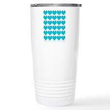 Cute Hearts 16 Oz Stainless Steel Travel Mug Mugs