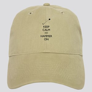 Keep Calm and Hammer On - Cap