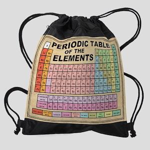 Periodic Table -Parch Drawstring Bag