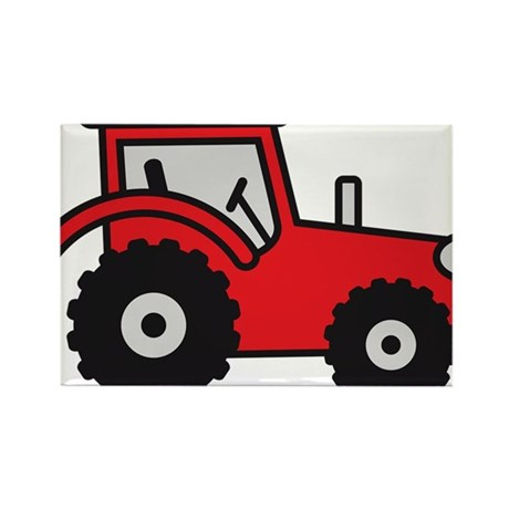 tractor Rectangle Magnet