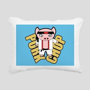 Pork Chop BBG Rectangular Canvas Pillow