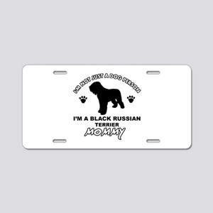 Black Russian Terrier Mommy Vector designs Aluminu