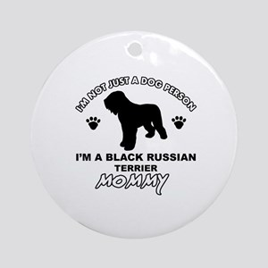 Black Russian Terrier Mommy Vector designs Ornamen