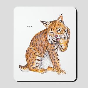 Bobcat Wild Cat Mousepad