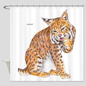 Bobcat Wild Cat Shower Curtain