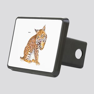 Bobcat Wild Cat Rectangular Hitch Cover