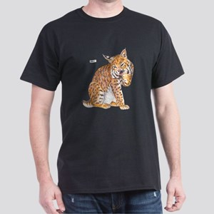 Bobcat Wild Cat Dark T-Shirt