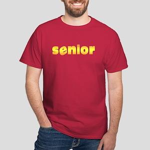 """""""senior"""" Black T-Shirt"""