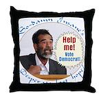 Saddam's Last Hope Throw Pillow