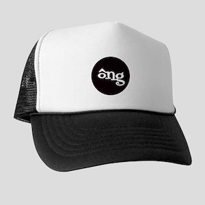 GRANDFATHER Round Trucker Hat