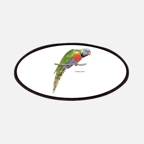 Rainbow Lorikeet Bird Patches