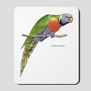 Rainbow Lorikeet Bird Mousepad