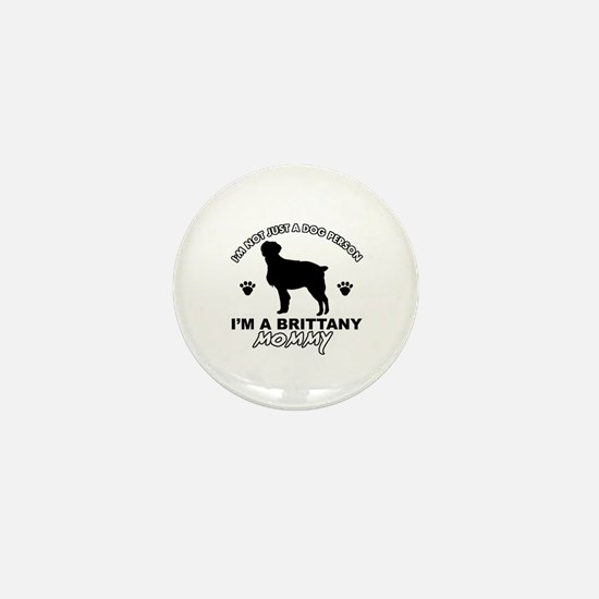 Brittany Mommy Mini Button