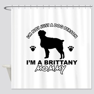 Brittany Mommy Shower Curtain