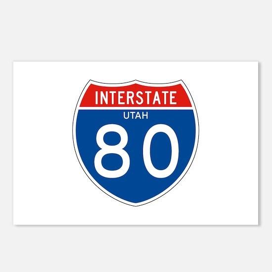 Interstate UT - 80 Postcards (Package of 8)