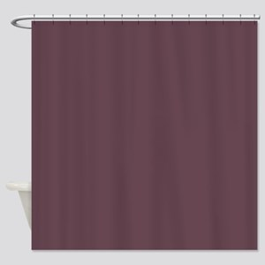 Plum Wine Shower Curtain