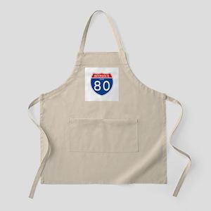 Interstate 80 - OH BBQ Apron