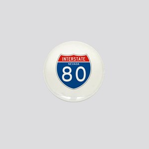 Interstate 80 - NV Mini Button