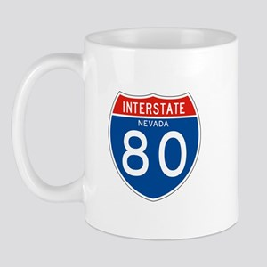 Interstate 80 - NV Mug