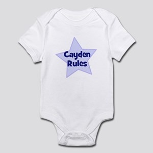 Cayden Rules Infant Bodysuit