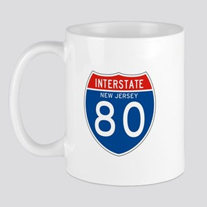Interstate 80 - NJ Mug