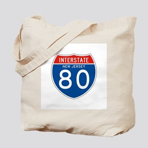 Interstate 80 - NJ Tote Bag