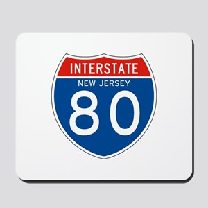 Interstate 80 - NJ Mousepad