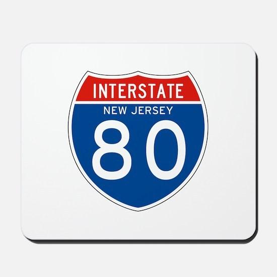 Interstate 80 - NJ Mousepad