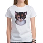 Blue Eyed Kitten 2 Women's T-Shirt