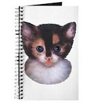 Blue Eyed Kitten 2 Journal