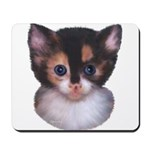 Blue Eyed Kitten 2 Mousepad