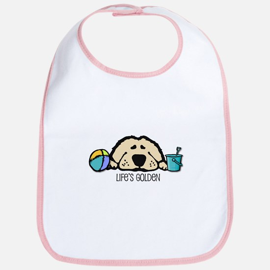 Life's Golden Beach Bib