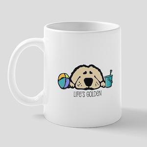 Life's Golden Beach Mug