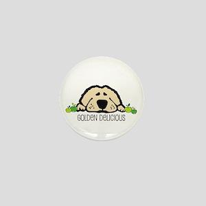 Golden Delicous Golden Mini Button